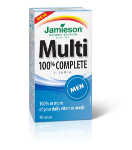 100% Complete Multivitamin for Men