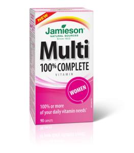 100% Complete Multivitamin for Women