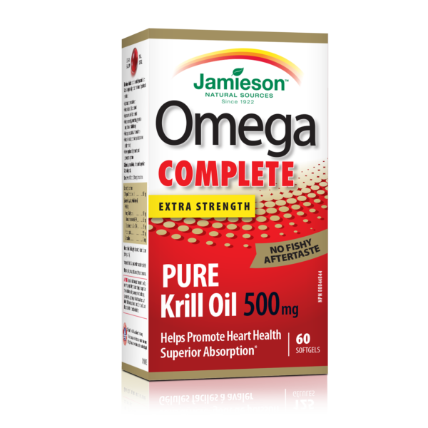 Omega Complete- Pure Krill Oil 500mg